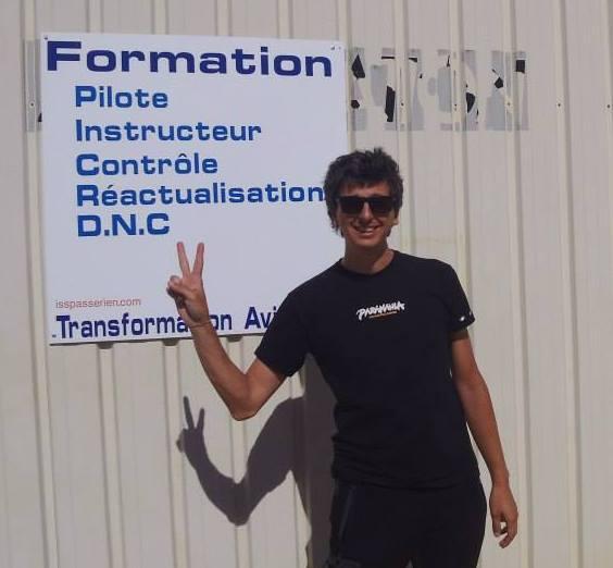 Giuliano Crotti Corso Francese Instructeur ULM