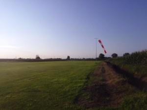 pista campo volo dovera