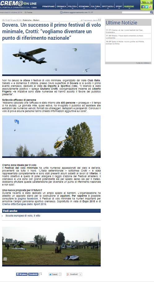 Cremaonline - articolo report evento
