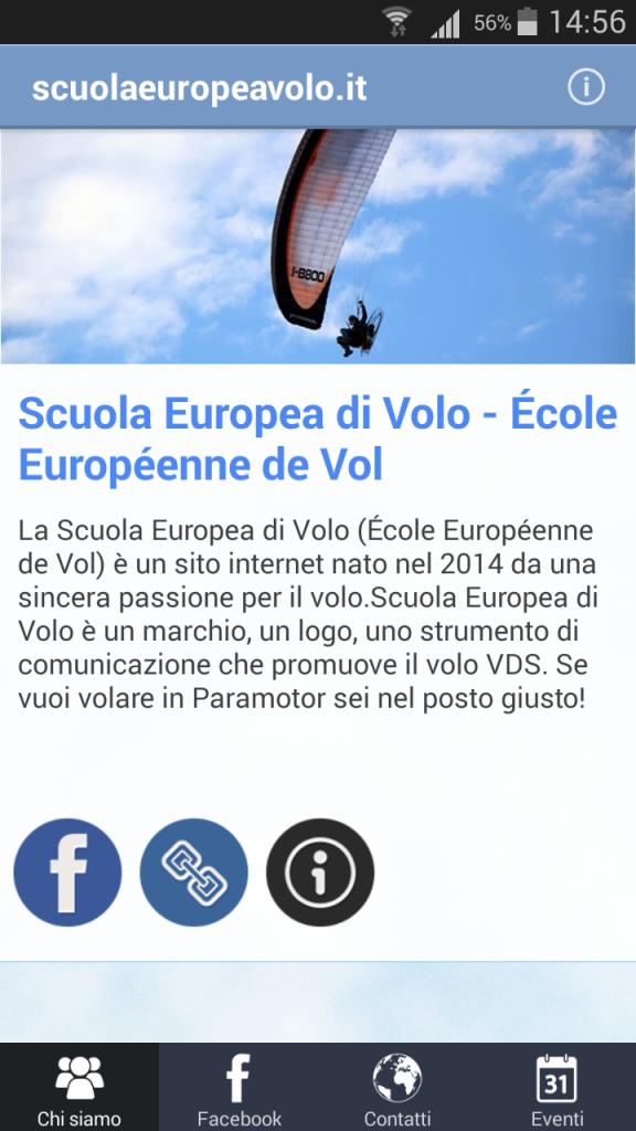 app android scuola europea di volo