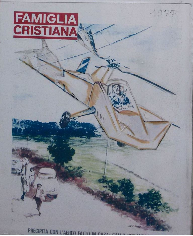 precipita con aereo fatto in casa salvo per miracolo famiglia cristiana
