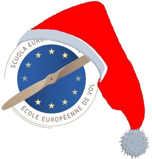 scuola europea di volo Natale red