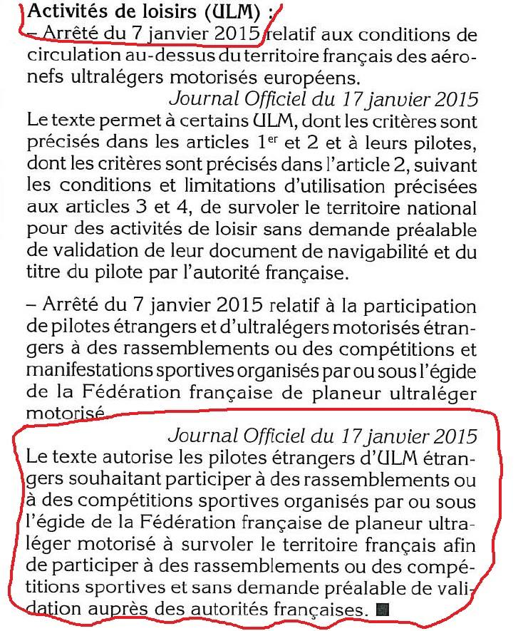 francia autorizza sorvolo ulm stranieri